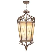 Livex Lighting Bristol Manor 2 Light Foyer Pendant; 49.5'' H x 21'' W x 21'' D / Medium Base Bulb