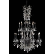 Elegant Lighting Monarch 16 Light  Chandelier; Crystal (Clear) / Elegant Cut