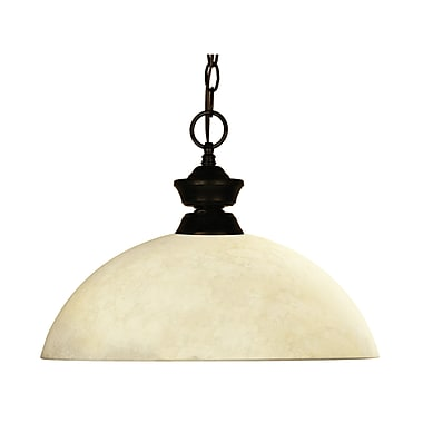 Z-Lite Challenger 1 Light Billiard Pendant
