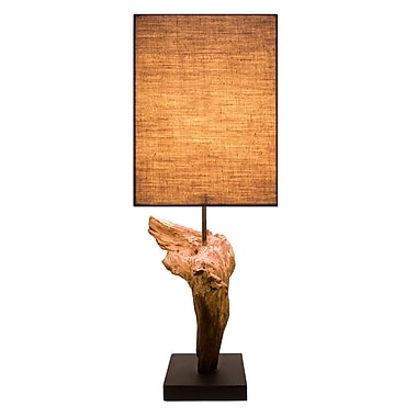 Bellini Modern Living 17'' H Table Lamp with Rectangular Shade (Set of 2)