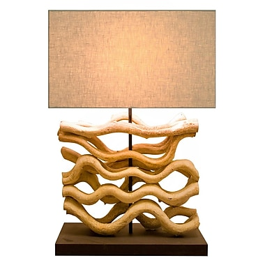 Bellini Modern Living 26.77'' H Table Lamp with Rectangular Shade