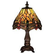 Meyda Tiffany 11.5'' Table Lamp; Amber