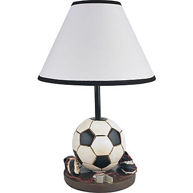 Milton Green Star Youth Soccer 15.75'' Table Lamp
