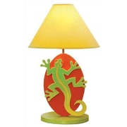 Room Magic Little Lizards 18'' H Table Lamp with Empire Shade