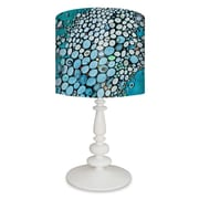 GreenBox Art Crashing Down 26'' H Table Lamp with Drum Table