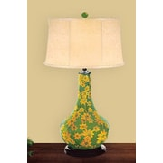 JB Hirsch Daisy 31'' H Table Lamp with Drum Shade