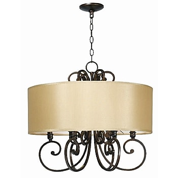 World Imports 6-Lights Chandelier