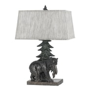 Cal Lighting Bear 25.5'' Table Lamp with Rectangular Shade