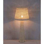 Ceets Limbo Table Lamp with Empire Shade; Cream