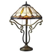 DynamicWay Serena d'italia 24'' H Table Lamp with Empire Shade