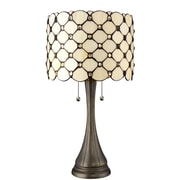 DynamicWay Serena d'italia 22'' H Table Lamp with Drum Shade