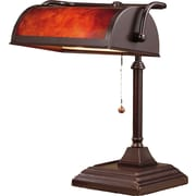 NormandeLighting 12'' H Table Lamp with Novelty Shade