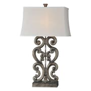 Forty West Amanda 34'' H Table Lamp with Rectangular Shade (Set of 2)