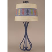 Coast Lamp Mfg. Coastal Living 5-Leg Iron 34'' H Table Lamp with Empire Shade