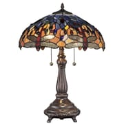 DynamicWay Serena d'italia 22'' H Table Lamp with Bowl Shade