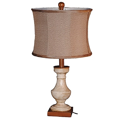 Santa's Workshop Antique Balustrade 23'' Table Lamp