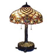 DynamicWay Serena d'italia 25'' H Table Lamp with Bowl Shade