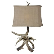 Forty West Sawyer 23'' H Table Lamp with Rectangular Shade