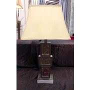 Jenkins Lamp, Inc. 30'' H Table Lamp with Rectangular Shade (Set of 2)