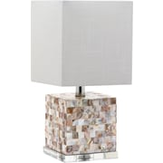 DecoratorsLighting Stella Maris 16'' H Table Lamp with Square Shade