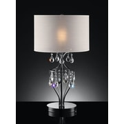 OK Lighting 29'' H Table Lamp with Drum Shade