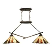 Dale Tiffany Ripley 2-Light Island Fixture
