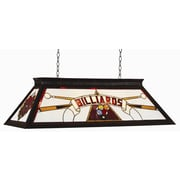 RAM Game Room 4 Light Billiard Light; Red