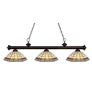 Z-Lite Riviera 3 Light Billiard Light