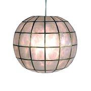 Oriental Furniture Princess Capiz 1-Light Hanging Pendant