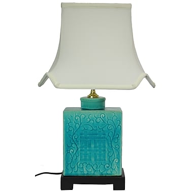 Oriental Furniture 20.5'' Table Lamp