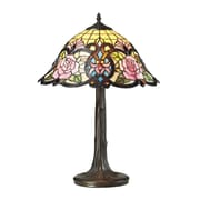 Elk Lighting Rosedale 22'' H Table Lamp with Bell Shade; 60W Medium Base