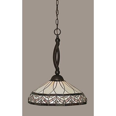 Toltec Lighting Bow 1-Light Pendant