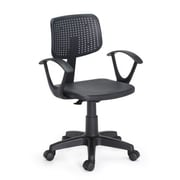 Hodedah HI-3001 Office Chair, Black