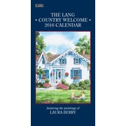 "2016 LANG Country Welcome 7.75""x15.5"" Vertical Wall Calendar (1079116)"