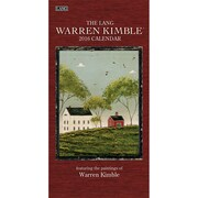 "2016 LANG Warren Kimble 7.75""x15.5"" Vertical Wall Calendar (1079131)"