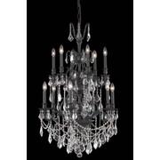 Elegant Lighting Monarch 12 Light Chandelier; Crystal (Clear) / Elegant Cut