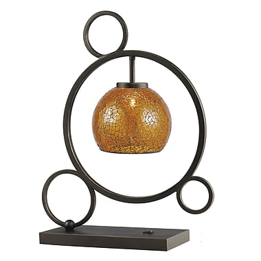 Woodbridge Cirque 20.5'' Table Lamp; Amber