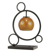 Woodbridge Cirque 20.5'' Table Lamp; Amber