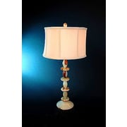 Lex Lighting Chartreuse 31'' H Table Lamp with Oval Shade