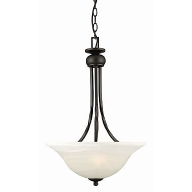Design House Drake 2-Light Inverted Pendant