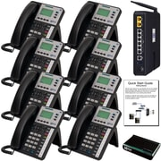 X50 System Bundle with (8) X3030 VoIP Phones (X5008)