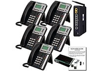 X50 System Bundle with (5) X3030 VoIP Phones (X5005)