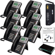 X25 System Bundle with (7) X3030 VoIP Phones (X2507)