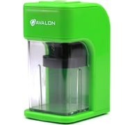 Avalon Electronic Pencil Sharpener with Built in Safety Feature, Green