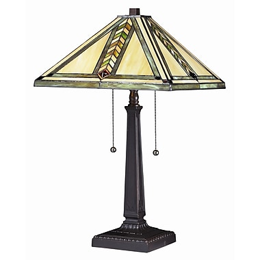 Z-Lite Shalimar 23'' H Table Lamp w/ Empire Shade