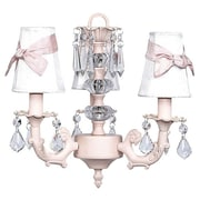 Jubilee Collection Stacked Ball 3-Light Shaded Chandelier