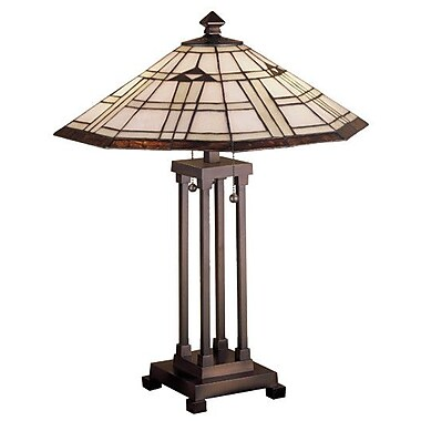 Meyda Tiffany Arrowhead Mission 24'' Table Lamp