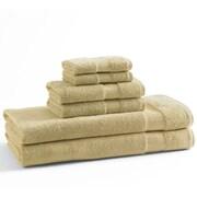 Kassatex Bamboo 6 Piece Towel Set; Sunflower