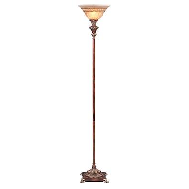 OK Lighting 69'' Torchiere Floor Lamp