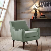 Madison Park Oxford Arm Chair; Sea Foam